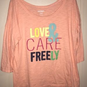 Tops - 5 for 25 Love Freely Tee